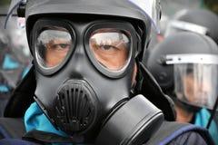 反政府集会在曼谷 免版税图库摄影