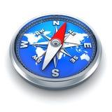 Магнитн-компас Стоковая Фотография