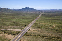 无忧无虑的高速公路 免版税库存图片