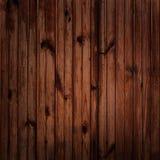 Темная деревянная предпосылка Стоковая Фотография RF