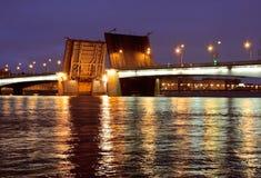 圣彼德堡桥梁  图库摄影