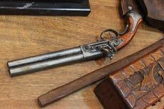 Старая пушка Стоковые Изображения