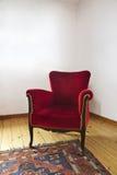 红色长沙发 库存图片