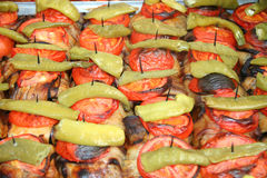 Известные турецкие еды Стоковое Изображение