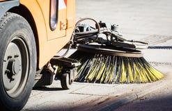 道路清扫工设备 免版税库存图片
