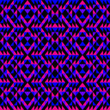 无缝的几何模式 免版税库存照片