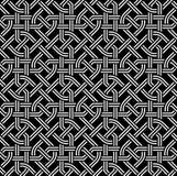 Кельтская безшовная картина Стоковая Фотография RF