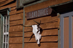 Старый западный офис земли Стоковое Изображение RF