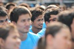 Αντιδιαβρωτική συνάθροιση στη Μπανγκόκ Στοκ Φωτογραφίες