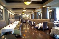 现代豪华餐馆 库存照片