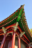 古典中国屋顶 免版税库存照片