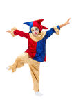 时装模特跳舞 免版税库存图片