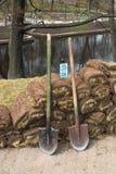 εργασίες κήπων Στοκ φωτογραφίες με δικαίωμα ελεύθερης χρήσης