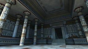 埃及寺庙 免版税库存照片