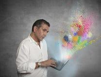 创造性的技术 免版税库存照片