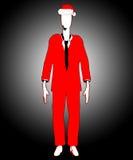 Имейте худенького человека Кристмас Стоковые Изображения RF