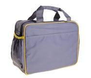 妈妈的织品袋子能保留婴孩辅助部件 免版税库存图片