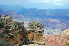 南外缘,亚利桑那,美国大峡谷风景视图  图库摄影