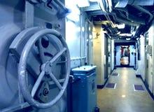 Υποβρύχιο εσωτερικό Στοκ εικόνα με δικαίωμα ελεύθερης χρήσης