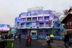 Страна чудес зимы в Гайд-парке, Лондоне Стоковые Изображения