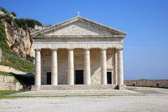 希腊寺庙 免版税图库摄影