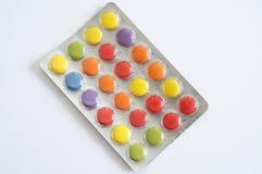 Χάπια χρώματος Στοκ Φωτογραφίες