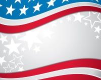 Предпосылка американского флага Стоковые Фото