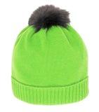绿色盖帽 免版税库存照片