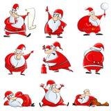 Смешное Дед Мороз Стоковое Изображение RF
