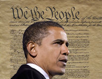 奥巴马总统 免版税库存图片