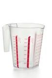 Измеряя чашка Стоковое Изображение