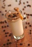 Холодный кофе льда с шоколадом Стоковое Изображение RF
