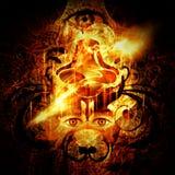 Божественное освещение Стоковая Фотография RF