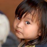 泰国女孩 免版税库存图片
