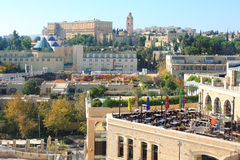 Самомоднейшее Иерусалим Стоковая Фотография