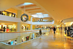 购物拱廊,香港 免版税库存图片