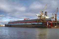 造船厂 库存图片