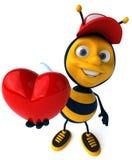 Μέλισσα κινούμενων σχεδίων Στοκ Φωτογραφίες