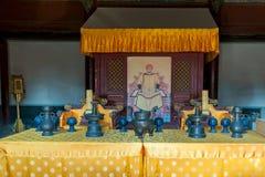 古老中国船 图库摄影