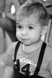 Χαριτωμένο νέο αγόρι Στοκ Εικόνες