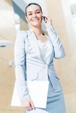 Портрет успешной женщины дела Стоковые Фотографии RF