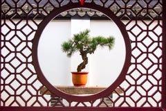Κινεζικό σε δοχείο τοπίο Στοκ φωτογραφία με δικαίωμα ελεύθερης χρήσης