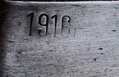 Παλαιά βουρτσισμένη σύσταση μετάλλων Στοκ Εικόνες