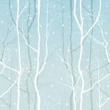 Δέντρα άνευ ραφής Στοκ Εικόνες
