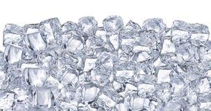 Κύβοι πάγου. Στοκ Εικόνες