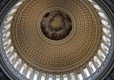 美国国会大厦的圆顶 库存照片