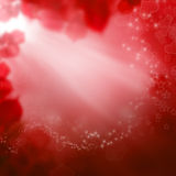 Красная предпосылка дня Валентайн Стоковое Фото