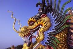 головка дракона Стоковая Фотография