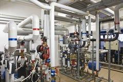 Завод теплообменного аппарата Стоковые Фотографии RF