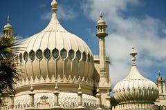 皇家结构布赖顿异乎寻常的宫殿的亭&# 免版税图库摄影